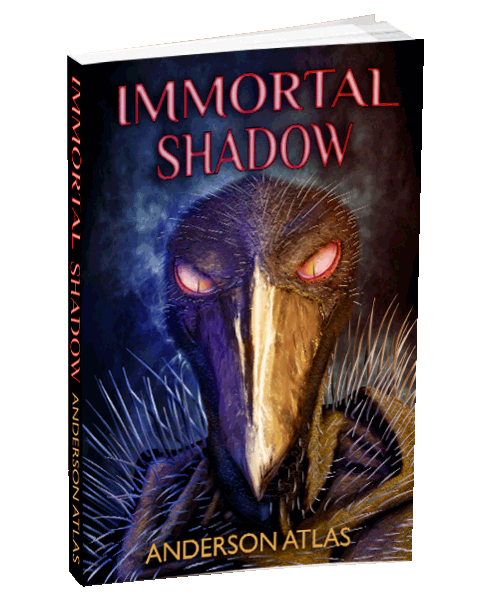 Young Adult Book Immortal Shadow by Anderson Atlas