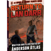young adult book return to lan darr