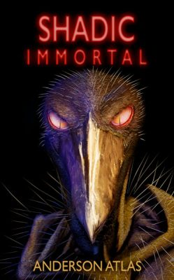 fantasy novel, evil main character