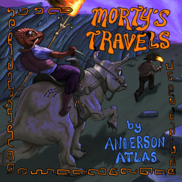 Morty's Travels a Middle Grade Chapter book By Anderson Atlas