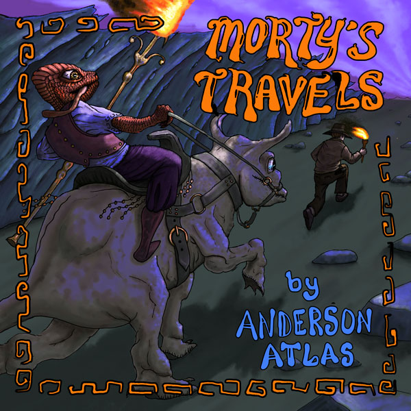 Mortys travels adventure childrens book