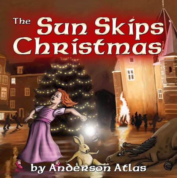 Sun Skips Christmas Childrens book