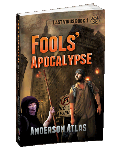 Apocalyptic Zombie Book by Anderson Atlas