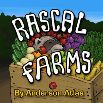 Rascal Farms Childrens book by Anderson Atlas