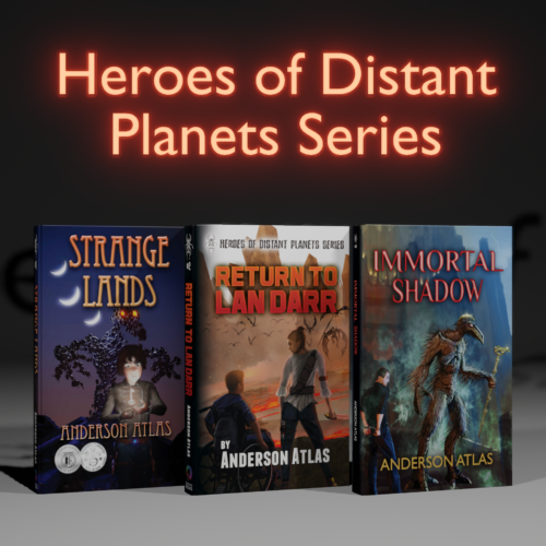heros of distant planets series YA book bundle
