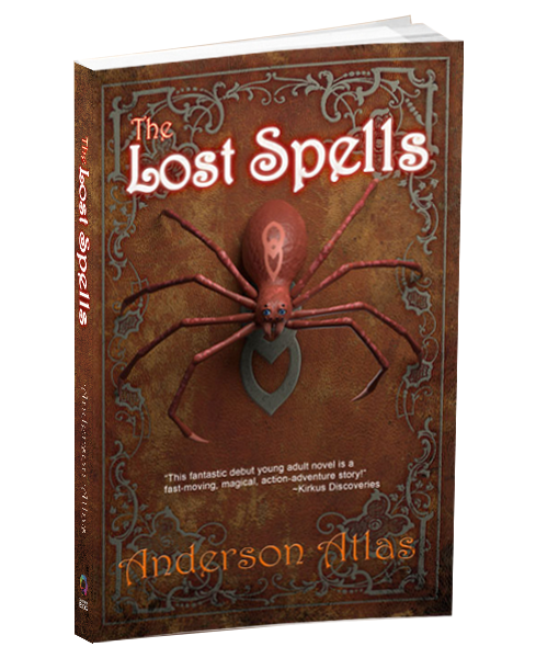 middle grade novel The Lost Spells by Anderson Atlas