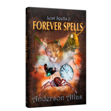 Lost Spells 2 book cover Middle grade book anderson atlas tucson arizona