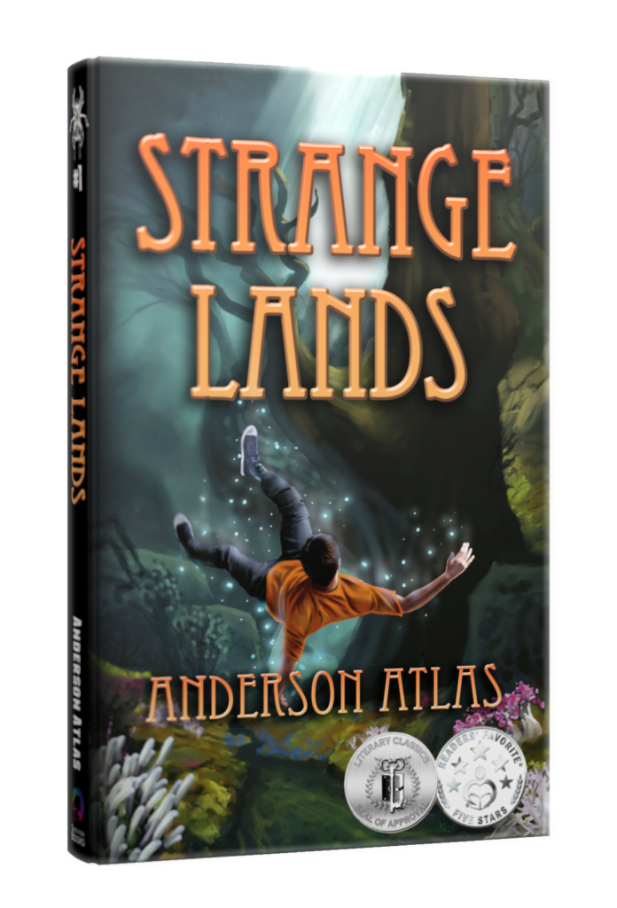 free strange lands YA ebook from anderson atlas