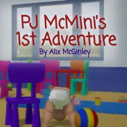 PJ McMini 1st adventure kids book for sale